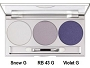 Kryolan Trio Smokey Purple Set