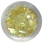 Cracked Ice Iridescent Yellow 2 g