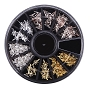Nail Gem Metal Arrow Stars Wheel