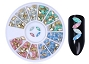 Gems Opal Point Back Mix Wheel