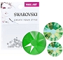 Swarovski Mixed Electric Green 70/Pack