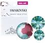 Swarovski Mixed DeLite Burgundy 70/Pack