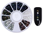 Rhinestones Mix Assorted 1 Wheel