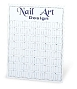 Nail Art Design Wall Display