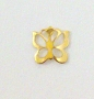 Nail Charm Gold Butterfly Small