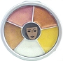 Kryolan Sparkle Earthtones Wheel
