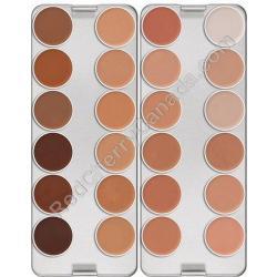 Kryolan Ultra Foundation XXIV Palette. Kryolan Professional Makeup